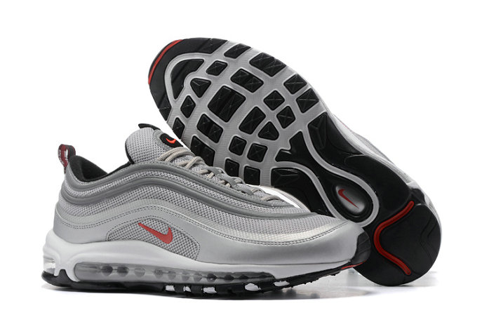 Cheap Wholesale Air Max 97 Grey Red Black