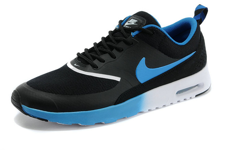 Cheap Wholesale Air Max Thea Black Royal Blue White