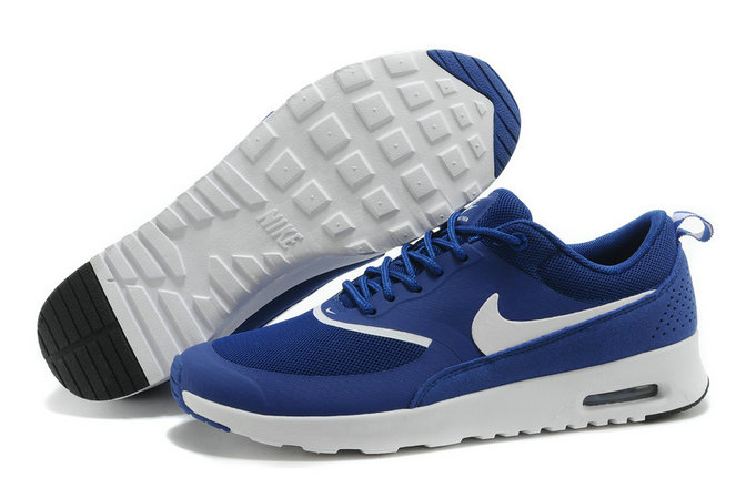 Cheap Wholesale Air Max Thea Royal Blue White