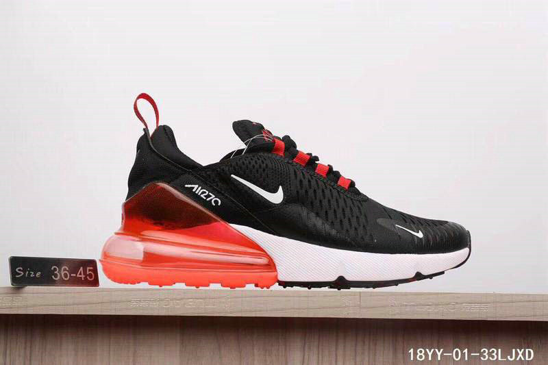 10ce57d95e1 Air Max Cheap Wholesale x Nike Air Max 270 Black Gym Red-White ...