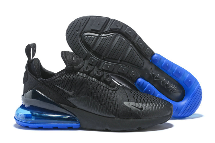 Air Max Cheap Wholesale x Nike Air Max 270 Black Royal Blue