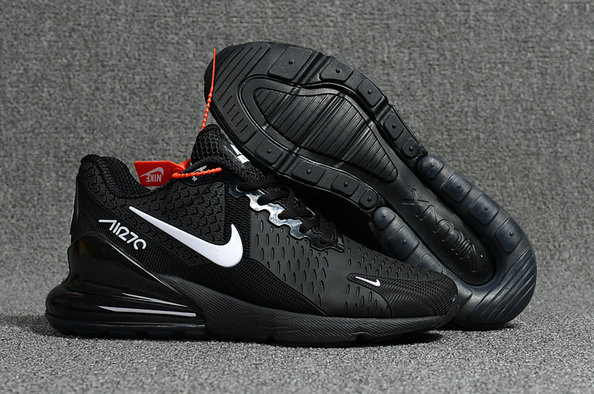 Air Max Cheap Wholesale x Nike Air Max 270 Black White Logo