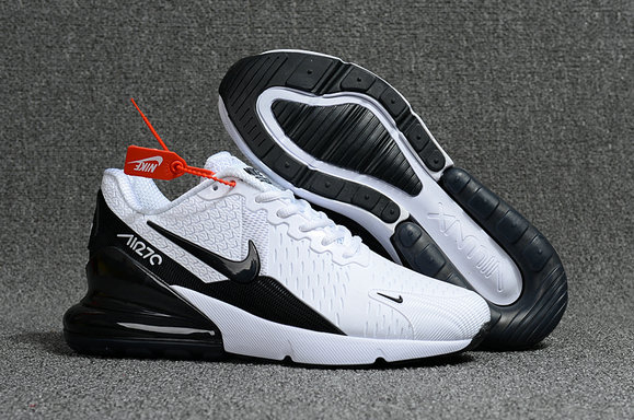 Air Max Cheap Wholesale x Nike Air Max 270 White Black