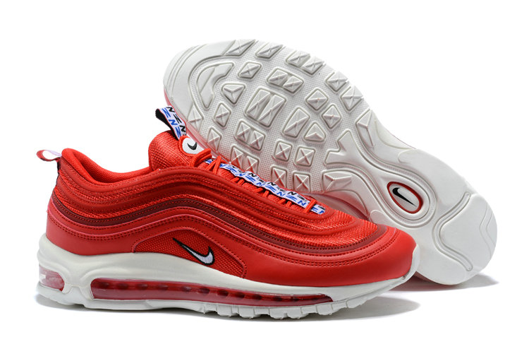 Air Max Cheap Wholesale x Nike Air Max 97 CR7 Portugal University Red White-Metallic Gold AQ0655-600