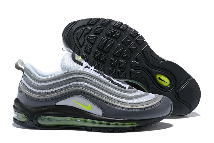 Air Max Cheap Wholesale x Nike Air Max 97 Dark Grey Volt-Stealth-Pure Platinum 921733-003