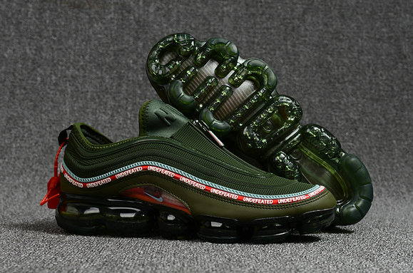 Air Max Cheap Wholesale x Nike Air Max 97 x Air VaporMax Mens Army Green Red