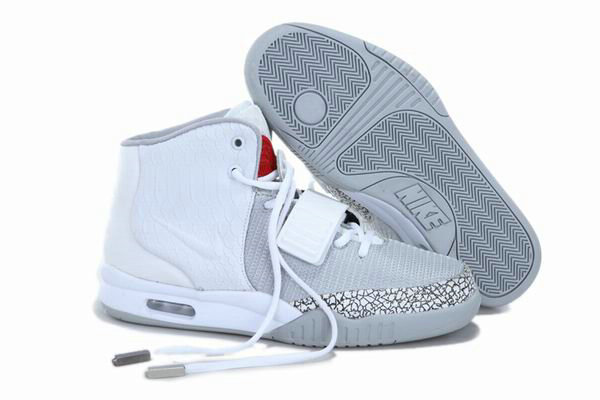 Cheap Wholesale Air Yeezy 2 Grey White Red