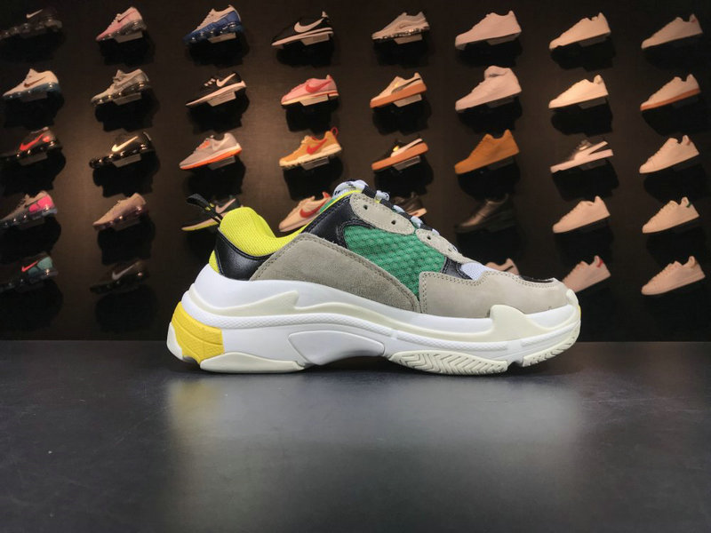 Cheap Wholesale Balenciaga Tripe-S 17FW Grey Green Yellow Black