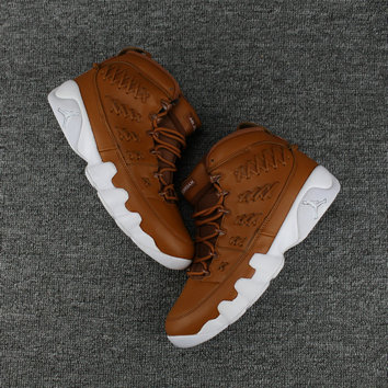 Cheap Wholesale Jordan Shoes Cheap Wholesale Air Jordan 9 White Brown