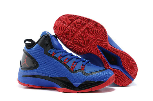 Cheap Wholesale Jordan Super Fly 2 PO Blue Red Black