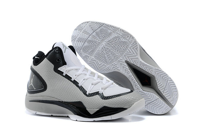 Cheap Wholesale Jordan Super Fly 2 PO Grey White Black