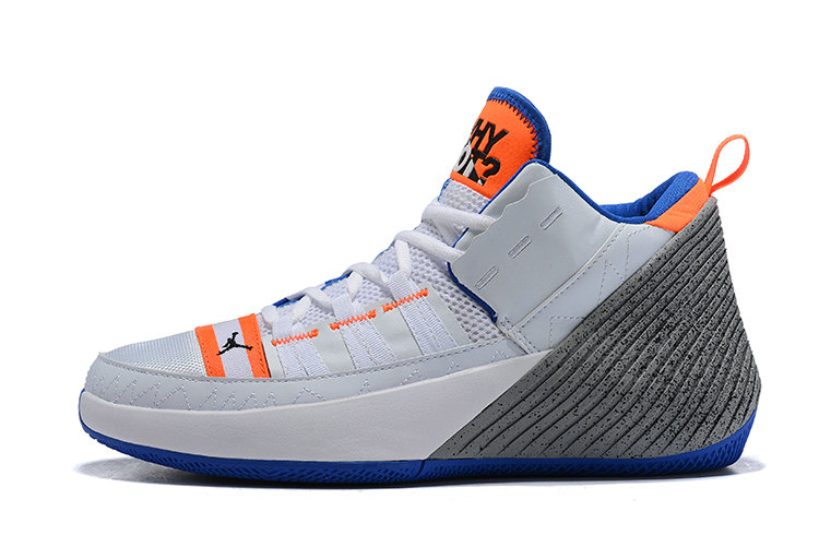 Wholesale Cheap Jordan Why Not Zer0.2 OKC White Blue Orange