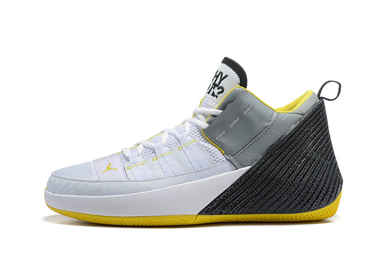 Wholesale Cheap Jordan Why Not Zer0.2 White Gold White Black Yellow