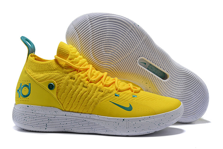 KD 11 Yellow Wholesale Cheap KD 11 Yellow White Green - China Wholesale Nike ...