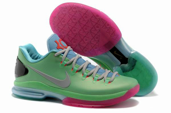 Cheap Wholesale KD V Elite Purple Light Green Blue