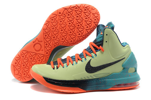 Cheap Wholesale Kevin Durant Shoes Black Orange Blue Green