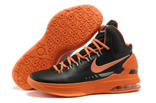 Cheap Wholesale Kevin Durant Shoes Orange Black Red