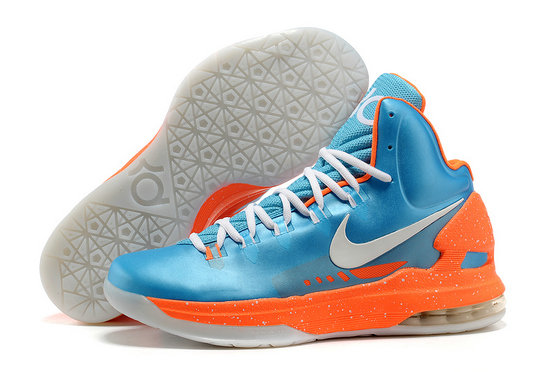 Cheap Wholesale Kevin Durant Shoes Orange Sky Blue