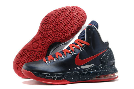 Cheap Wholesale Kevin Durant Shoes White Navy Blue Red