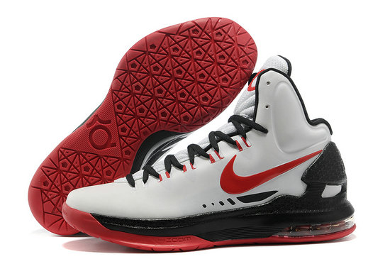 Cheap Wholesale Kevin Durant Shoes White Red Black