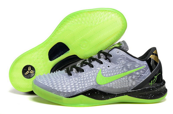 Cheap Wholesale Kobe 8 System SS Christmas Green Grey Black