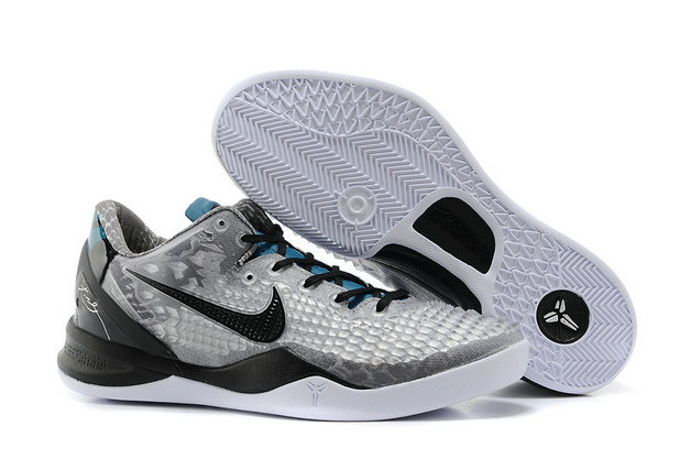 Cheap Wholesale Kobe 8 System SS Grey Black