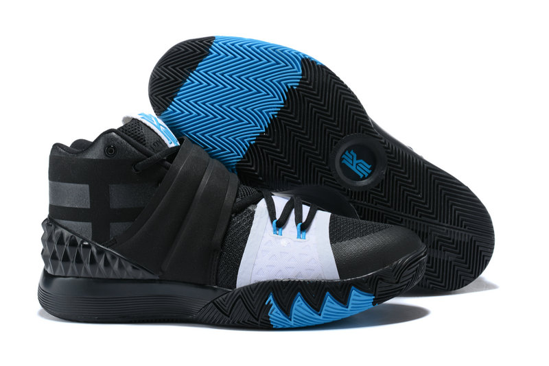 Cheap Wholesale Kyrie Irving Nike Kyrie S1Hybrid White Black Blue
