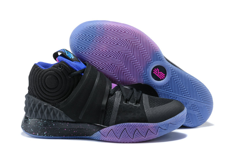 Cheap Wholesale Kyrie Irving Nike SIHYBRID Black Purple