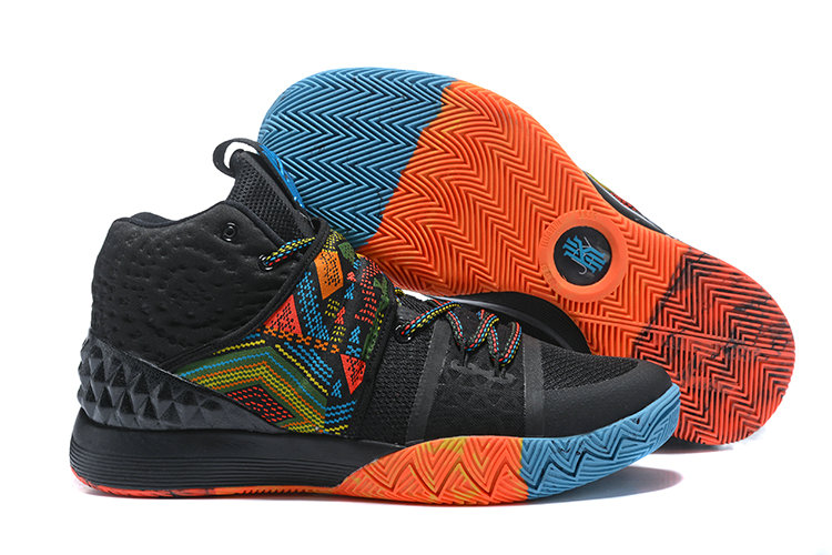 Cheap Wholesale Kyrie Irving Nike SIHYBRID Orange Black Blue