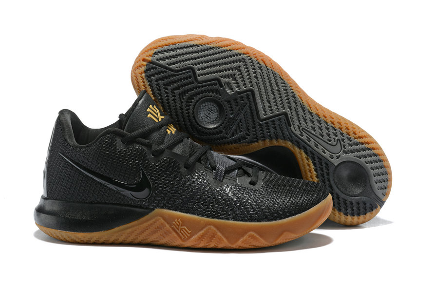 Cheap Kyrie Irvings Nike Kyrie Flytrap Gold Black