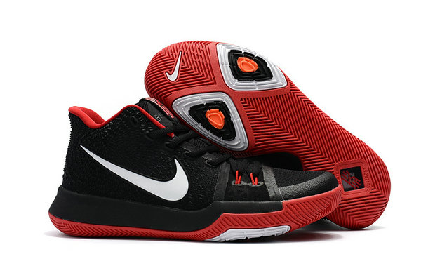 Cheap Wholesale Kyrie Shoes Nike Kyrie Irving 3 Kids Fire Red Black White