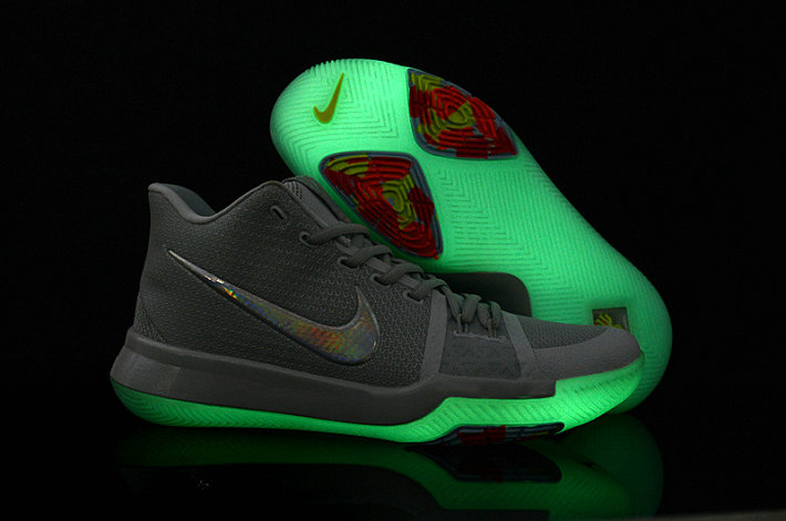 Cheap Wholesale Kyrie Shoes Nike Kyrie Irving 3 Womens Glow in the dark