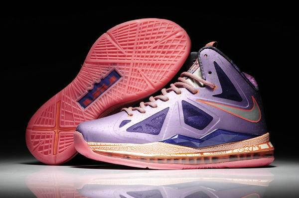 Cheap Wholesale Lebron 10 All Galaxy For Womens