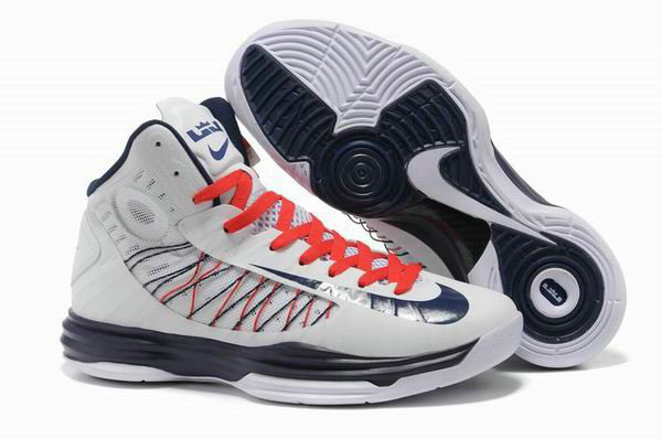 Cheap Wholesale Lebron Lunar Hyperdunk 2012 White Orange Blue