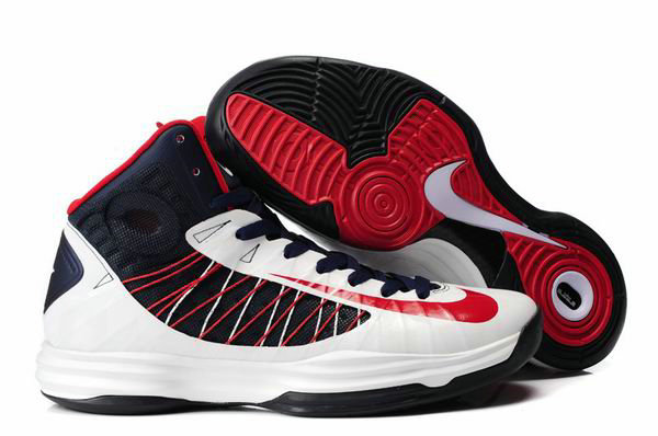 Cheap Wholesale Lebron Lunar Hyperdunk 2012 White Red Black
