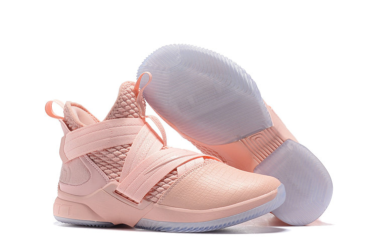 Wholesale Cheap Lebron Soldier 12 Pink Bright