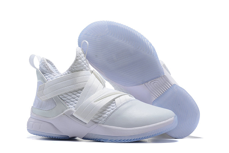 Wholesale Cheap Lebron Soldier 12 Total White