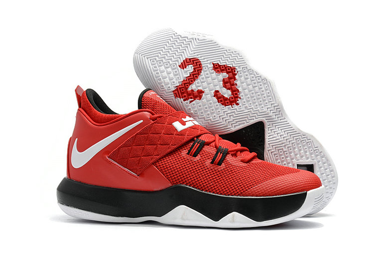 Nike Lebron Cheap Wholesale x Nike LeBron Ambassador 10 Red White Black