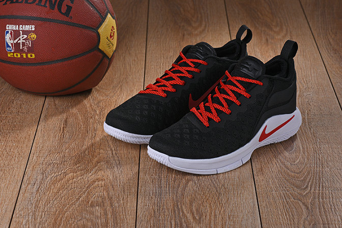 Cheap Wholesale Lebrons Nike Lebron Witness 2 Flyknit Red Black White