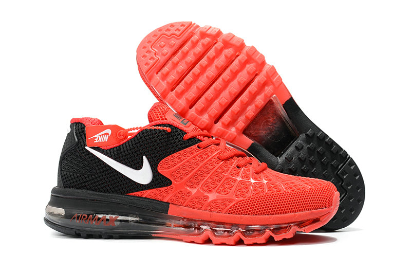 Cheap Wholesale Newest Nike Air Max 2017 Mens Red Black White