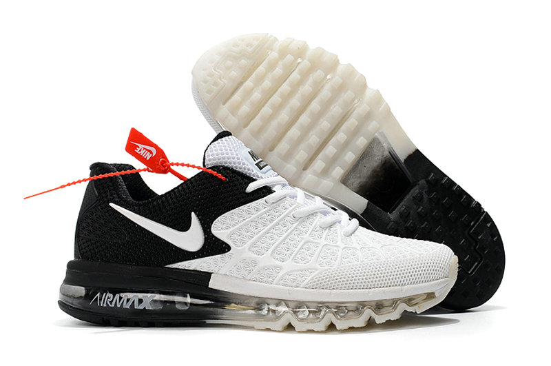 Cheap Wholesale Newest Nike Air Max 2017 Mens White Black