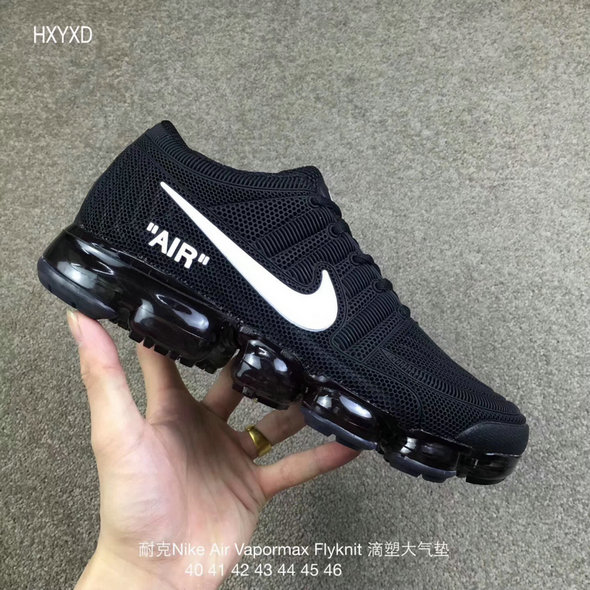 Cheap Wholesale Nike 2018 Nike Air 2018 Flyknit Black White Running