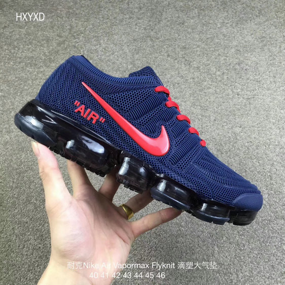 Cheap Wholesale Nike 2018 Nike Air 2018 Flyknit Red Royal Blue Running