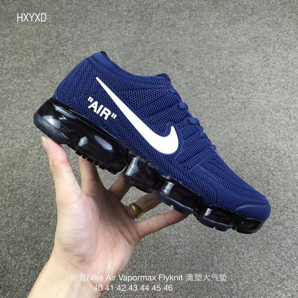 Cheap Wholesale Nike 2018 Nike Air 2018 Flyknit Royal Blue White Running
