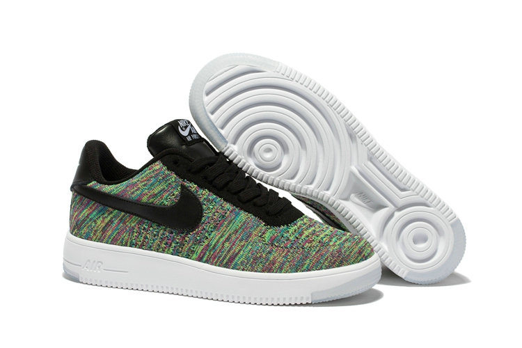 online retailer 1208c 1c969 Nike AF1 Cheap Wholesale x Nike Air Force 1 Ultra Flyknit Low in Black  Multicolor