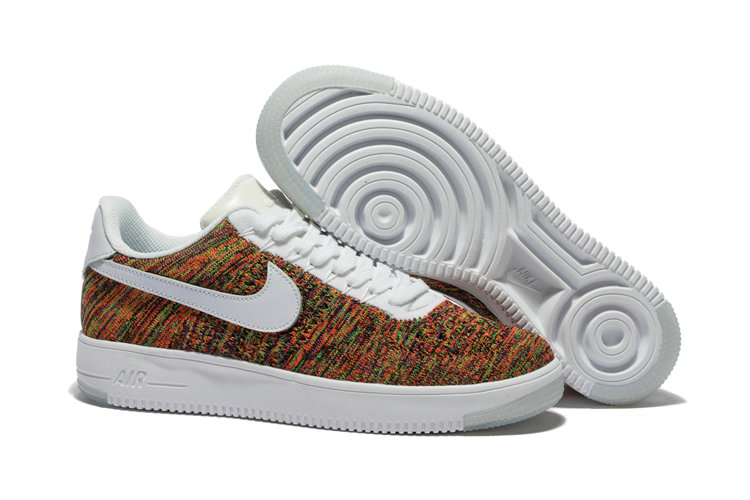 Nike AF1 Cheap Wholesale x Nike Air Force 1 Ultra Flyknit Low in Multicolor