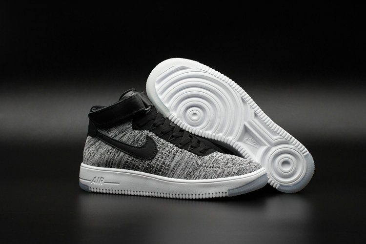 91d1e13a1dc78 Nike AF1 Cheap Wholesale x Nike Air Force One Ultra Flyknit Mid Glacier Blue