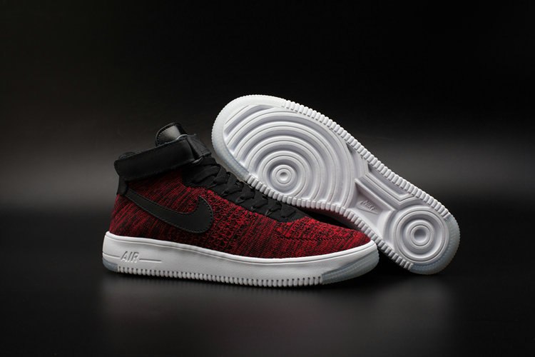 7e12b6e76c10e Nike AF1 Cheap Wholesale x Nike Air Force One Ultra Flyknit Mid University  Red