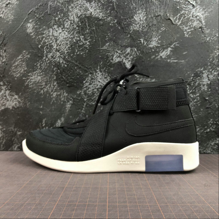 Wholesale Cheap Nike Air Fear of God 180 Black-Black-Fossil AT8087-002