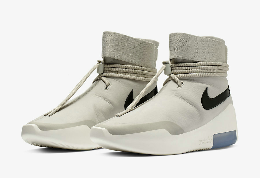 Wholesale Cheap Nike Air Fear of God SA Light Bone Black AT9915-002